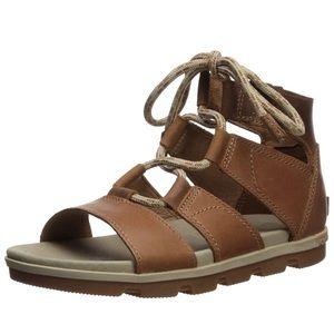 Sorel Torpeda Lace Sandals Size 9